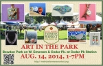 Art in the Park 2014.08.14